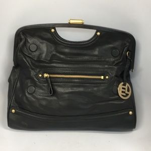 Elliott Lucca Leather Bag handbag purse super cute